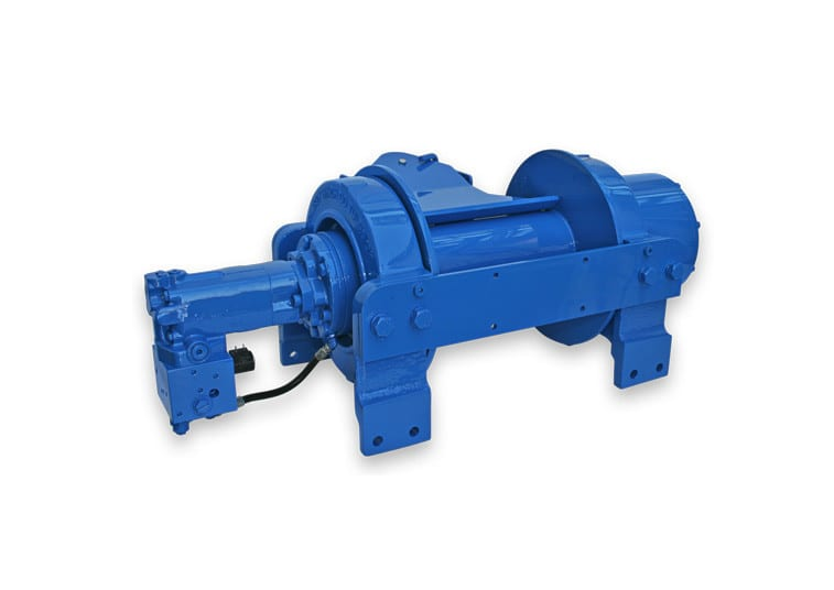 Hydraulic Worm Gear Winches : Hd p y ramsey winch be mighty
